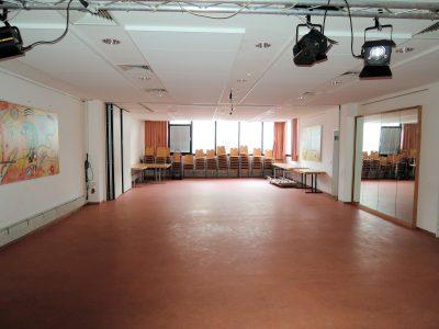 Bürgersaal (von Bühne aus)